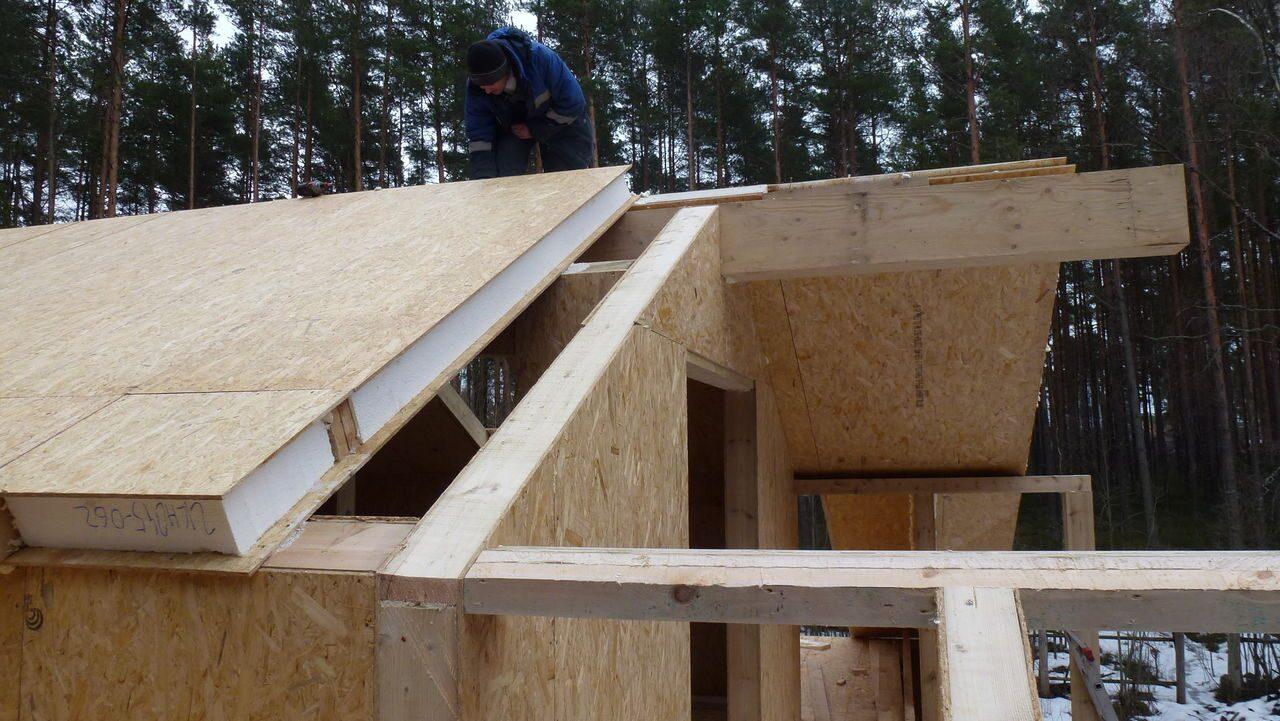 Строительство дома из sip панели своими руками 40